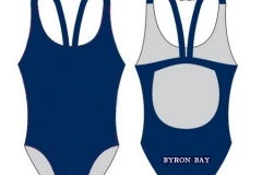 BBSLSC Navy Swimmers One Piece