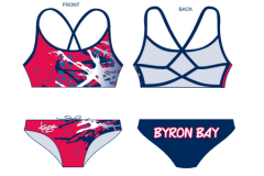 BBSLSC Swimmers Girls Strappii 2 Piece