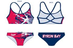 BBSLSC Swimmers Ladies Strappii 2 Piece