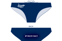 BBSLSC Swimmers Racer (Mens) Blue